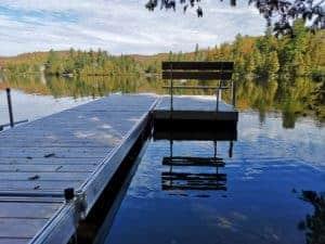 Multinautic aluminium dock
