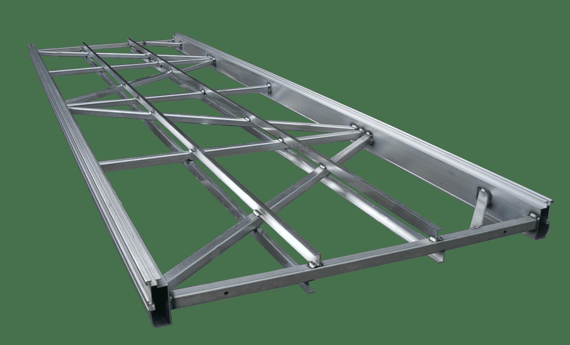 Flybear /Échelle t/élescopique multifonction pliable en aluminium Charge maximale 150 kg 5 m