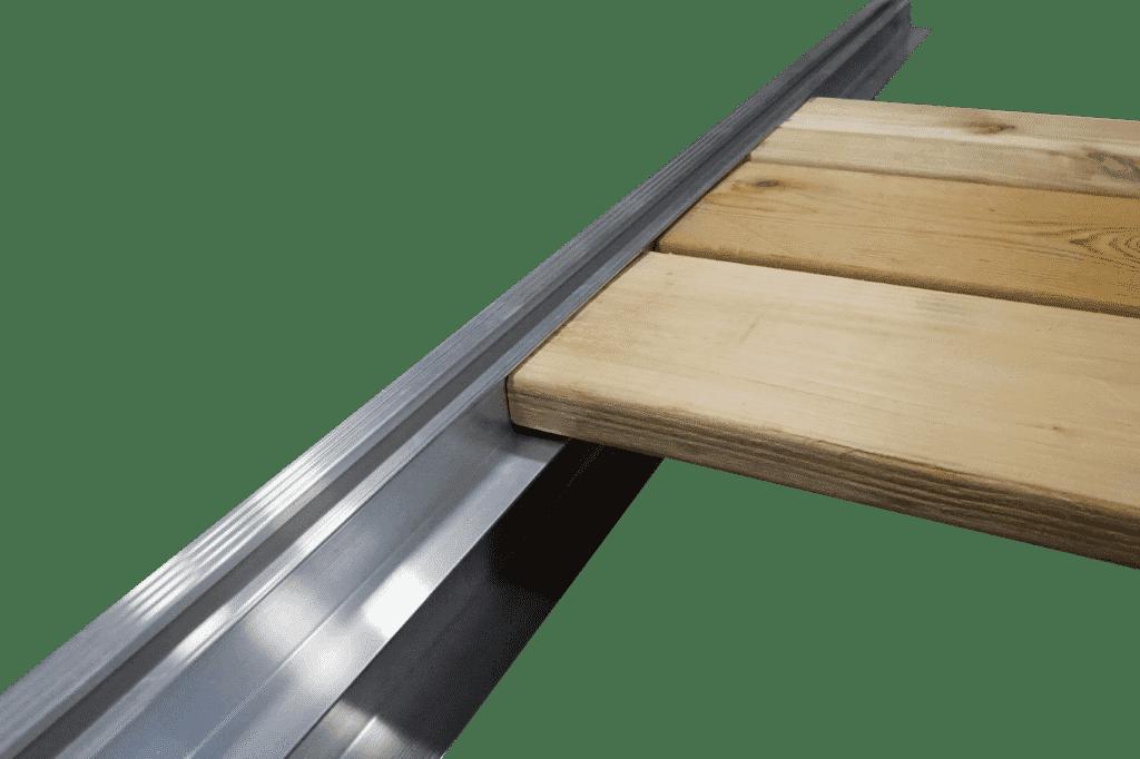Aluminum Dock Edge