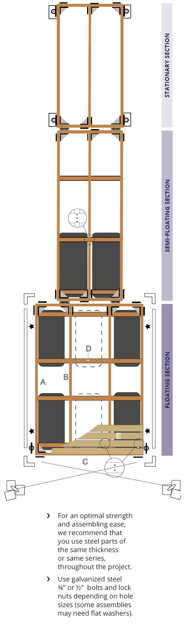 How to build a wooden dock - DIY | Multinautic